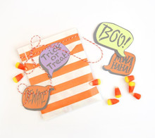 Print then cut halloween stickers